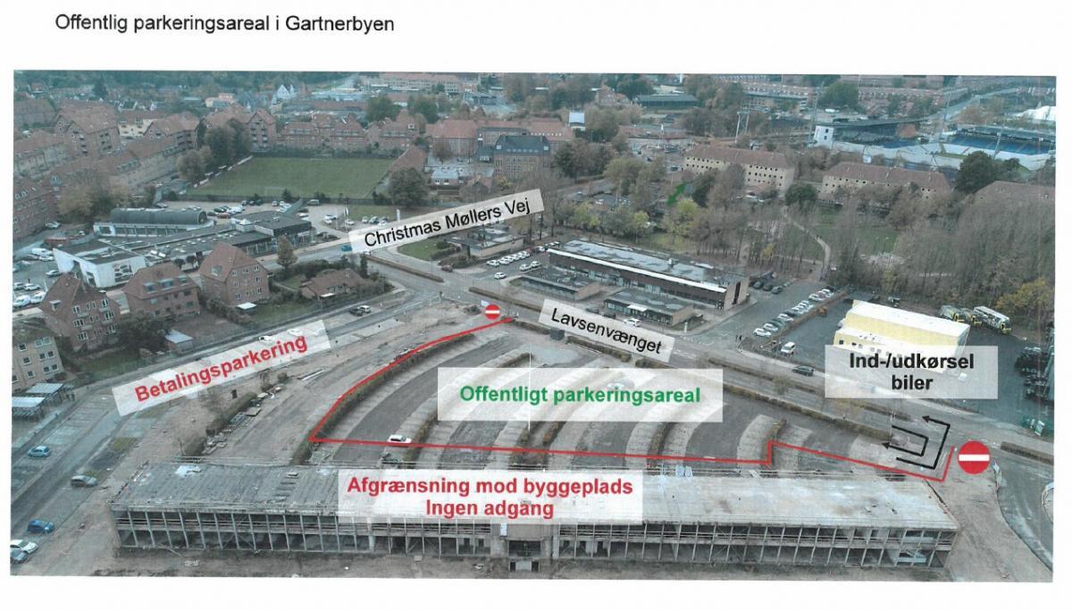 Offentlig Parkering I Gartnerbyen Ab Odense